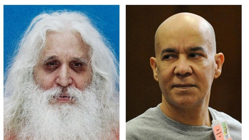 FILE - In this combination of two file photos, convicted child molester Jose Antonio Ramos, left, and Pedro Hernandez, right, who is accused of abducting and killing six-year-old Etan Patz in 1979 are shown. Hernandez could not have murdered Patz, his defense has said. He is mentally ill, and that's why he falsely confessed to choking the boy in the basement of the convenience store where he worked. And another man long suspected in the crime is the true killer - there was just not enough evidence to try him, the defense argues. Testimony about Ramos, whose shadow has loomed large over the ongoing trial, is expected this week. (AP Photo/File)