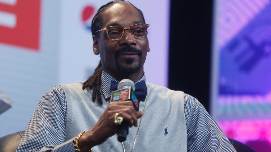 "March 20, 2015: Snoop Dogg takes part in the ""Keynote Conversation with Snoop Dogg"" at the South by Southwest festival in Austin, Texas."