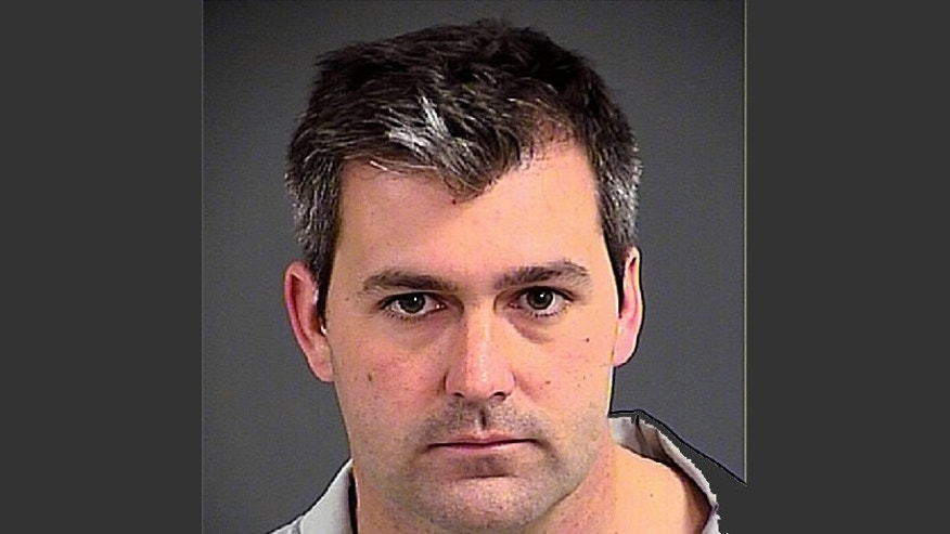 This photo provided by the Charleston County, S.C., Sheriff's Office shows Patrolman Michael Thomas Slager on Tuesday, April 7, 2015. Slager has been charged with murder in the shooting death of a black motorist after a traffic stop. North Charleston Mayor Keith Summey told a news conference that city Slager was arrested and charged Tuesday after law enforcement officials saw a video of the shooting following a Saturday traffic stop. (AP Photo/Charleston County Sheriff's Office)