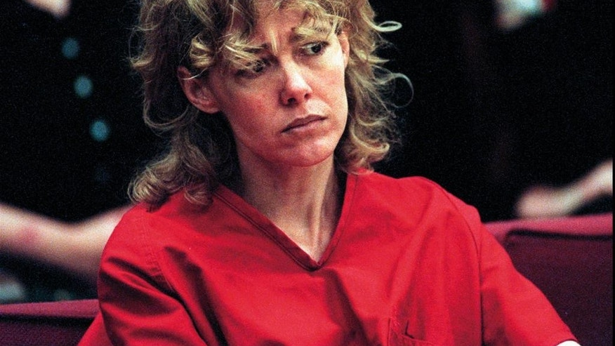 "FILE - In this Feb. 6, 1998, file photo, Mary Kay Letourneau listens to testimony during a court hearing in Seattle. Vili Fualaau, who married Letourneau after she was jailed for raping him, says their relationship hasn't always been good, but they've persevered. Fualaau and Letourneau discussed their lives together with Barbara Walters in an interview that will air on ABC News' ""20/20"" Friday, April 10, 2015. Letourneau is a former suburban Seattle teacher who became tabloid fodder in the 1990s when she was convicted of raping the then 12-year-old Fualaau. She served a prison sentence and then married him. (AP Photo/Alan Berner, Pool, File)"