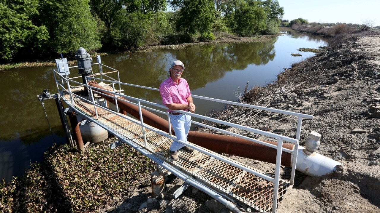 California delta's water mysteriously missing amid severe drought