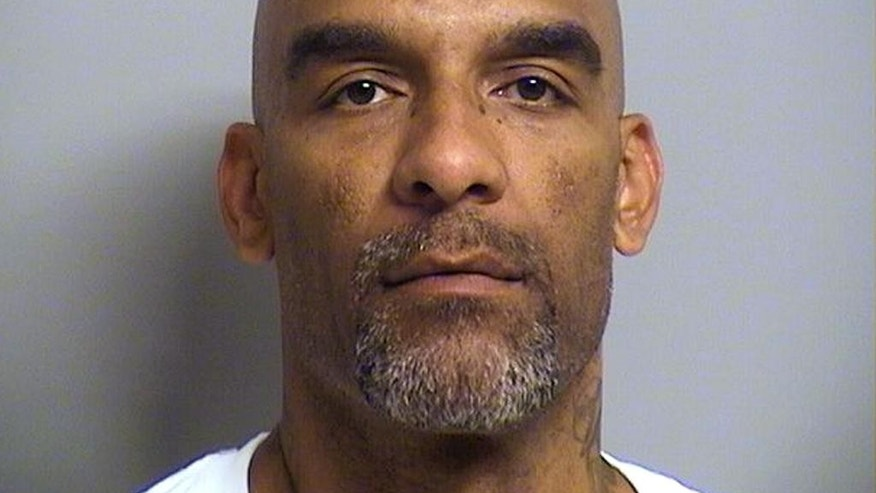 In this photo provided by the Tulsa County, Oklahoma, Sheriff's Office is Eric Harris, 44.  Police say Robert Bates, a white reserve sheriff's deputy, thought he was holding a stun gun, not his handgun, when he fatally shot Harris, a black suspect, during an arrest that was caught on video in. Harris was treated by medics at the scene and died in a Tulsa hospital. (Tulsa County Sheriff's Office via AP)