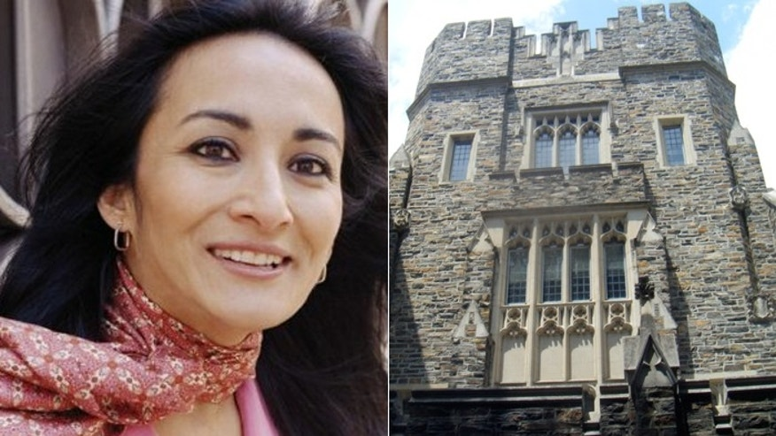 Asra Nomani got to speak to an audience at Duke University, but not before a Muslim student group protested. (Asra Nomani, file photo)