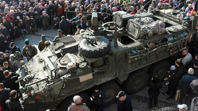 US troops in Europe request bigger guns amid tensions with Russia over Ukraine
