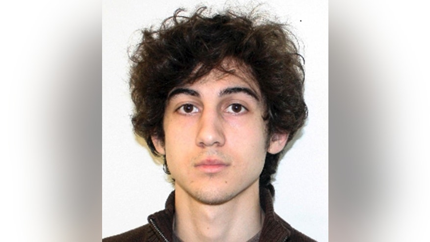 FILE - This undated file photo released Friday, April 19, 2013, by the FBI shows Dzhokhar Tsarnaev. Tsarnaev's life is on the line as his lawyers return to federal court to make their case that he should be spared the death penalty. Tsarnaev's defense team is set to begin presenting witnesses on Monday, April 27, 2015, in the penalty phase of his trial, the stage that will determine whether he is executed or spends the rest of his life behind bars. Tsarnaev, 21, already has been convicted of 30 federal charges in the twin bombings that killed three spectators and injured more than 260 others near the marathon's finish line on April 15, 2013. Seventeen of those charges carry the possibility of the death penalty. (AP Photo/FBI, File)