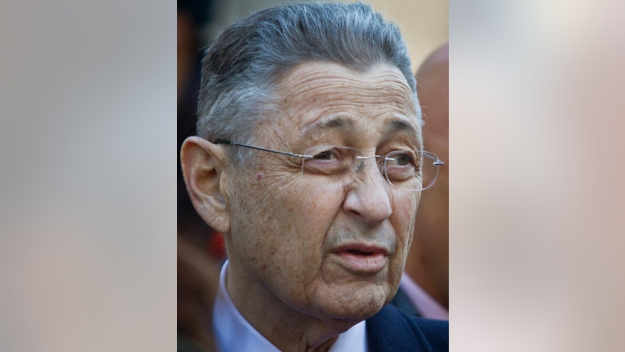 "File-This March 3, 2015, file photo shows former State Assembly speaker Sheldon Silver joining a coalition of elected officials and civic leaders at a press conference outside City Hall in New York. The former New York state Assembly Speaker is scheduled to enter a plea to the latest version of a criminal indictment that led him to step down from his powerful post.The Democrat is set to enter a plea Tuesday, April 28, 2015, in Manhattan federal court. Last week, prosecutors boosted charges against Silver, saying he did ""certain official"" favors for an investor who gave him access to high-yield investment opportunities. (AP Photo/Bebeto Matthews, File)"