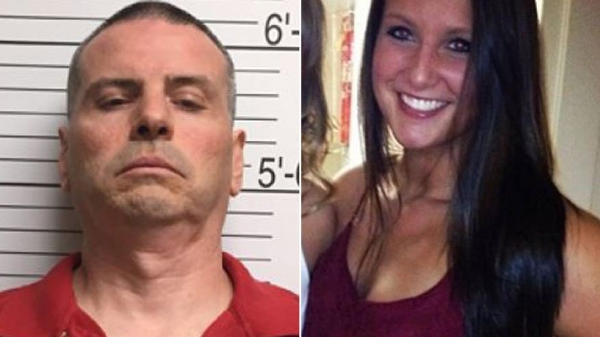 Daniel Messel, left, was arrested and charged with the murder of Hannah Wilson, right, a 22-year-old Indiana University senior from Fishers, Ind.