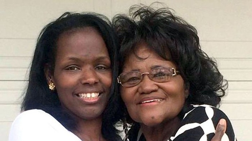 Melanie Diane Gilmore, (l.), met her birth mother, Zella Jackson Price, (R.), after her own daughter tracked her down using a birth certificate. (Photo courtesy Zella Jackson Price)