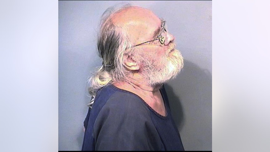 This Monday, May 4, 2015, booking photo released by the Brevard County (Fla.) Sheriff's Office shows Harold Frank Freshwaters, 79, of Akron, Ohio, who arrested Monday by U.S. Marshals in Melbourne, Fla. Freshwaters, convicted of voluntary manslaughter for killing a pedestrian with his car in 1957, initially received a suspended sentence but was imprisoned in 1959 for a parole violation. He fled a prison farm in northwest Ohio later that year. (AP Photo/Brevard County Sheriff's Office)