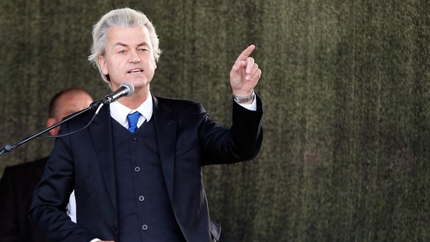 Dutch anti-Islam politician Geert Wilders was at the Garland, Texas, event.