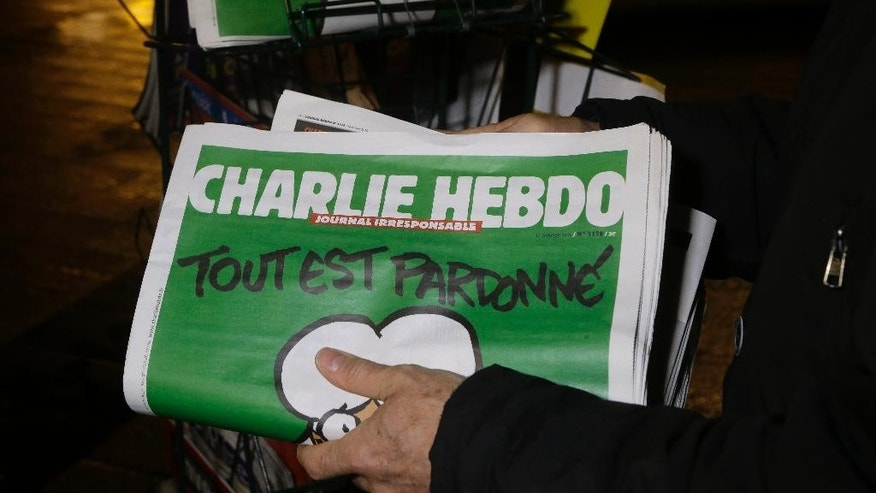 "An editor for satirical French magazine ""Charlie Hebdo"" said his publication will not draw Muhammad any more."