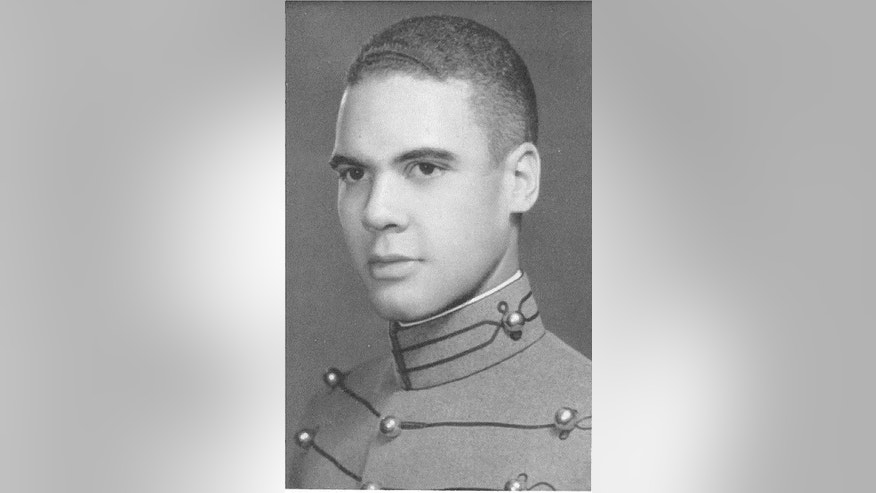 "This undated photo provided by the U.S. Army shows then-cadet Benjamin O. Davis Jr. Davis entered West Point in 1932 as its only black cadet and spent the next four years shunned. He roomed alone and ate alone. The future Tuskegee Airman and trailblazing Air Force general later wrote he was ""an invisible man."" Now more than a decade after his death, the academy that ostracized Davis is honoring him.  (U.S. Army Photo via AP)"