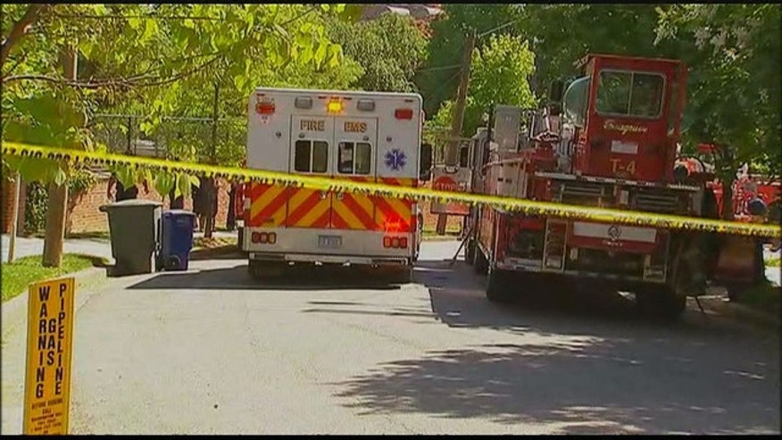 May 14, 2015: Emergency personnel arrive at the scene of a fire in Northwest Washington D.C. that resulted in the deaths of 4 people. Investigators have classified the fire as 'very suspicious' (MyFoxDC.com)