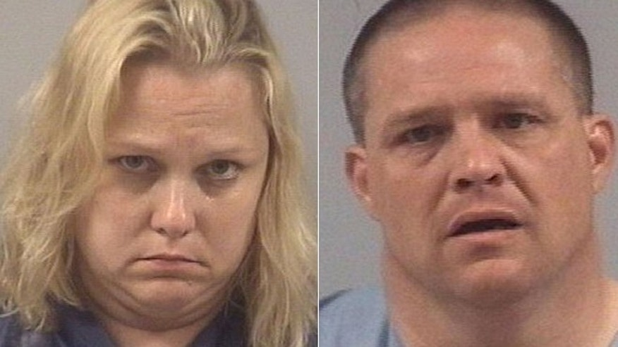This photo shows Lori Riley Whitley, 38, and her husband, Gary Nelson Whitley Jr., 41 of Zebulon, N.C.