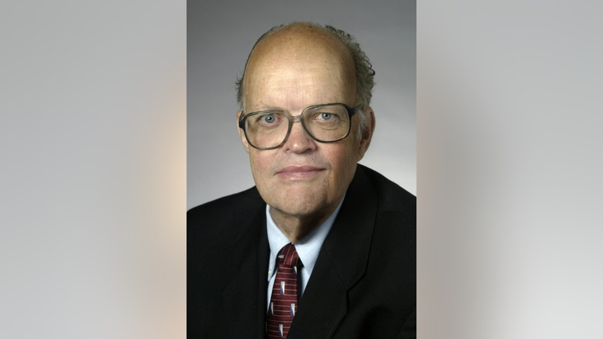 This undated photo provided by Duke Photography shows Jerry Hough. The Duke University professor criticized for an online post comparing blacks and Asians said Monday, May 18, 2015, that it's not racist to discuss what he sees as differences in how the groups have performed in the U.S. over the past few decades. (Jim Wallace/Duke Photography via AP)