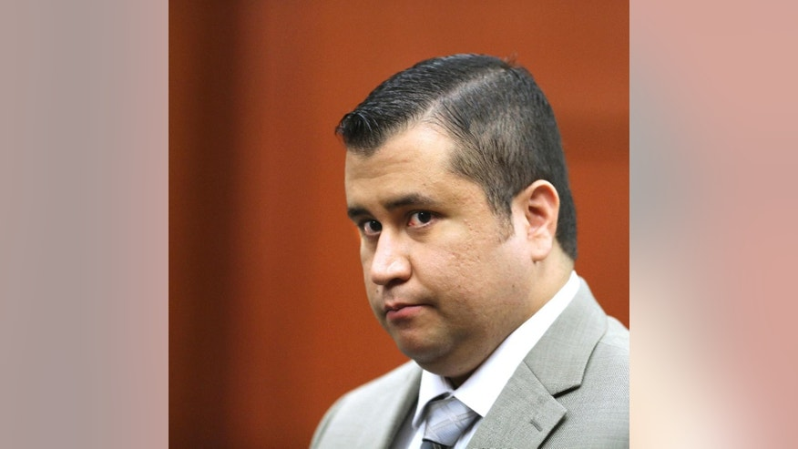 "FILE - In this July 9, 2013 file photo, George Zimmerman leaves the courtroom for a lunch break his trial in Seminole Circuit Court, in Sanford, Fla. A police report says a man charged with shooting at George Zimmerman on May 11, 2015, had ""a fixation"" on the former neighborhood watch leader. The report made public Tuesday, May 19, 2015,  says 36-year-old Matthew Apperson had recently been admitted to a mental institution and had shown signs of paranoia, anxiety and bipolar disorder. (AP Photo/Orlando Sentinel, Joe Burbank, Pool, File via AP)"