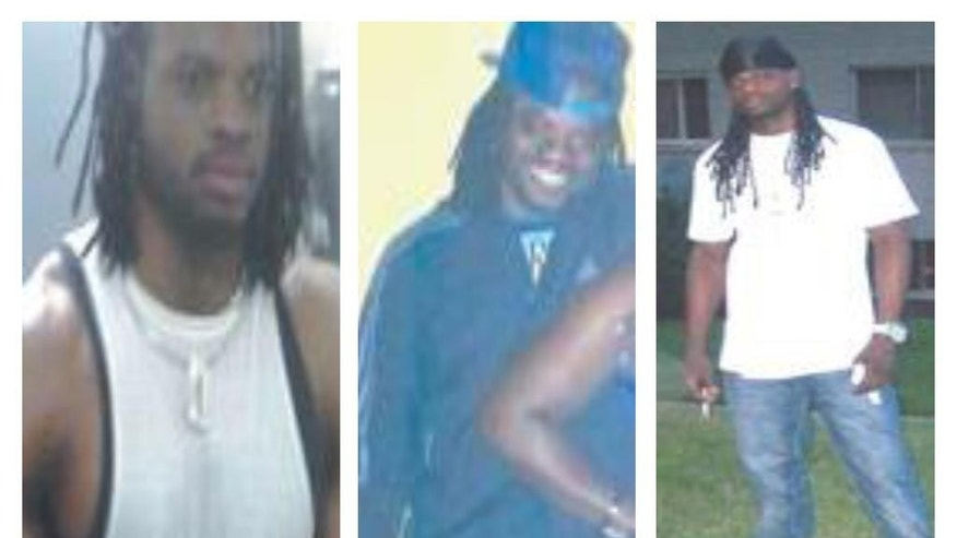 This combination of undated photos provided by the Washington, D.C., police shows Daron Dylon Wint.