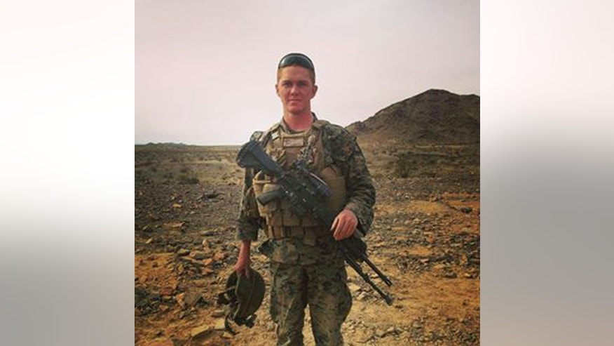 This undated photo provided by the U.S. Marine Corps, shows Lance Cpl. Matthew J. Determan at an unknown location. The military said on Wednesday, May 20, 2015, a second Marine identified as Determan has died of injuries he received after an Osprey aircraft crashed during a training exercise last weekend in Hawaii.   (U.S. Marine Corps via AP)