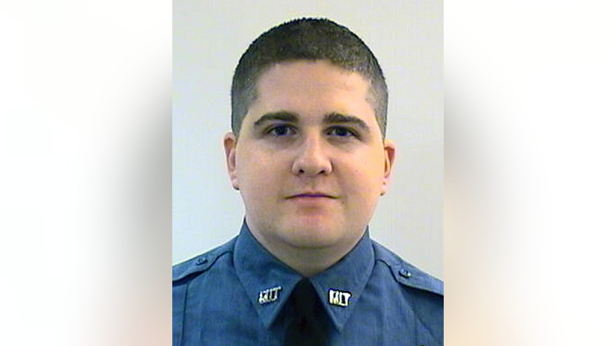 FILE - This undated file photo released by the Middlesex District Attorney's Office shows Massachusetts Institute of Technology Police Officer Sean Collier, of Somerville, Mass. Collier was killed in an encounter with Boston Marathon bombers Dzhokhar Tsarnaev and Tamerlan Tsarnaev in Cambridge hours after authorities publicly released photographs and videos of the brothers as suspects in the April 2013 bombing, which killed three people and injured more than 260.  Dias Kadyrbayev, friend of Dzhokhar Tsarnaev might have prevented Collier's shooting death by helping authorities find Tsarnaev instead of helping him, the officer's family said in a court filing Wednesday, May 27, 2015. (Middlesex District Attorney's Office via AP, File)