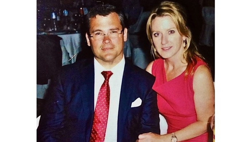 American Iron Works CEO Savvas Savopoulos and his wife, Amy.