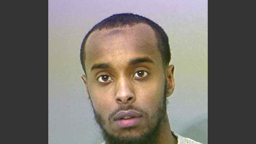 FILE - This undated file photo provided by the Franklin County Sheriff's Office shows Abdirahman Sheik Mohamud. Somali leaders and authorities, reacting to recent overseas terrorism activities by a pair of local brothers, say numerous efforts are in place to combat terror recruiting of youth in Ohio's capital city, Columbus. Meanwhile, Jersey City, N.J., is trying to mend bonds fractured by surveillance of Muslims by the New York City Police Department. Their different approaches illustrate that when it comes to stemming recruitment efforts by foreign terrorists, one size does not fit all. (AP Photo/Franklin County Sheriff's Office via AP, File)