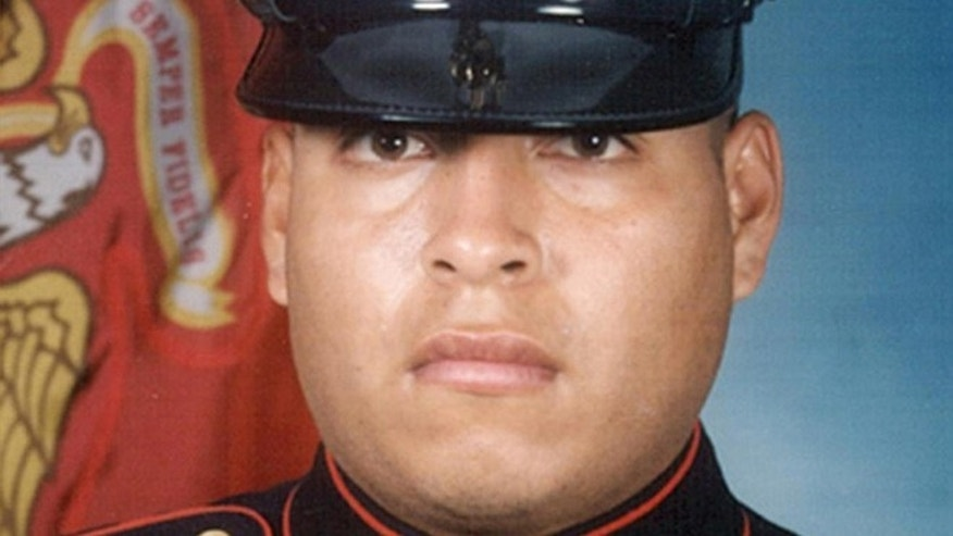 This file photo shows Sgt. Rafael Peralta. The Navy will posthumously award a Navy Cross to the Marine killed in Iraq, after years of appeals by his family asking the Pentagon to approve the Marine Corps nomination for the Medal of Honor, the nations highest award for military heroism.