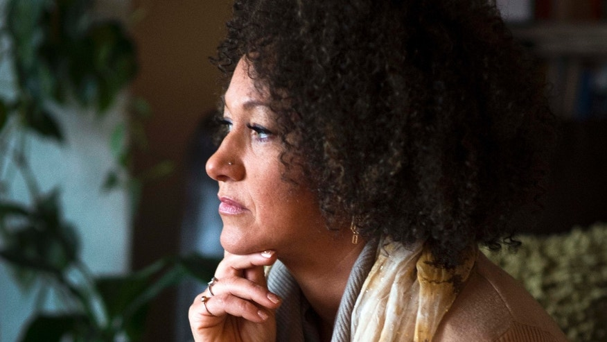 March 2, 2015: Rachel Dolezal, president of the Spokane chapter of the NAACP, poses for a photo in her Spokane, Wash.