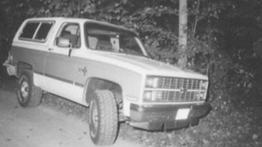 Jane Marie Prichard's 1980 Chevrolet Blazer found near murder scene.(New Castle County Police Department)