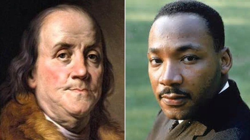 benjamin franklin and martin luther king