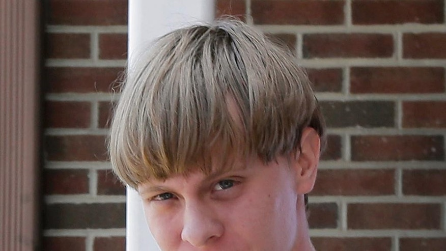 Dylann Roof is accused of killing nine people inside a black church in Charleston.