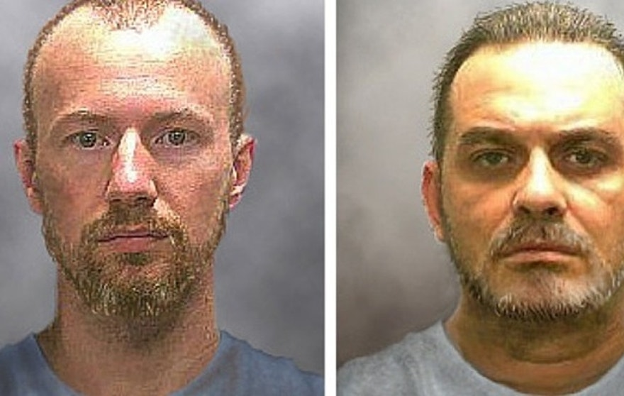 Rendering supplied by New York State Police shows what David Sweat and Richard Matt might look like after more than 10 days on the run.