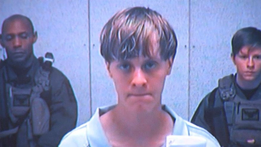 Dylann Roof appears via video before a judge in Charleston, S.C., on Friday, June 19, 2015. The 21-year-old accused of killing nine people inside a black church in Charleston made his first court appearance. The killings of nine people at a black church in South Carolina appear to fit a grim pattern of violence fueled by hateful ideology, joining attacks by extremists in the last five years that have targeted Jewish and Sikh centers, federal government buildings and police officers. (Centralized Bond Hearing Court, of Charleston, S.C. via AP)
