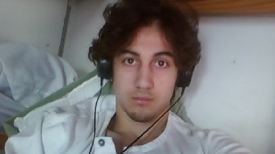 FILE 2015: Dzhokhar Tsarnaev is pictured in this handout photo presented as evidence by the U.S. Attorney's Office in Boston.