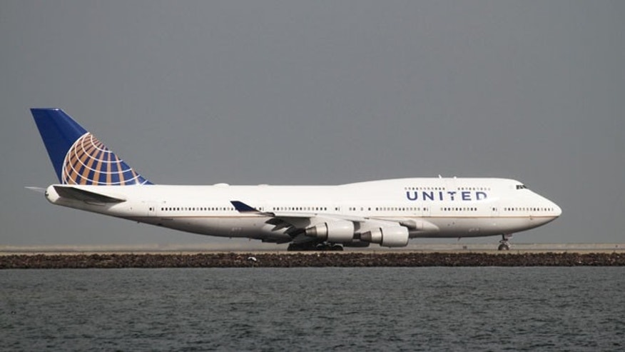 FILE 2015: A United Airlines Boeing 747-400 taxis at San Francisco International Airport.