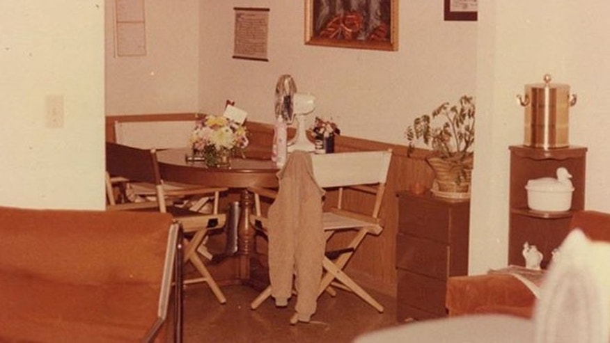 Crime scene photo of apartment of Tracey Neilson, killed Jan. 5, 1981. (OSBI)