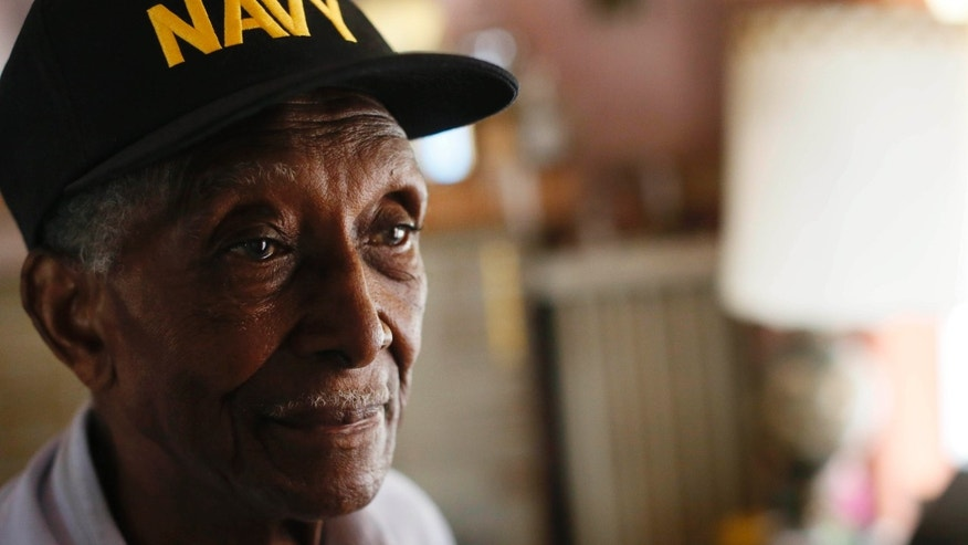 Friday, June 19, 2015: Johnnie H. Hodges, Sr., a 90-year-old Navy veteran of WWII, received notice from the bank yesterday that he has 72 hours to leave the house he has lived in for more than 60 years,