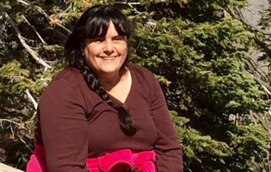 This photo, provided by the family, shows 44-year-old Janet Castrejon, who disappeared June 19 while camping with her parents in the Chiricahua Mountains in southeast Arizona.