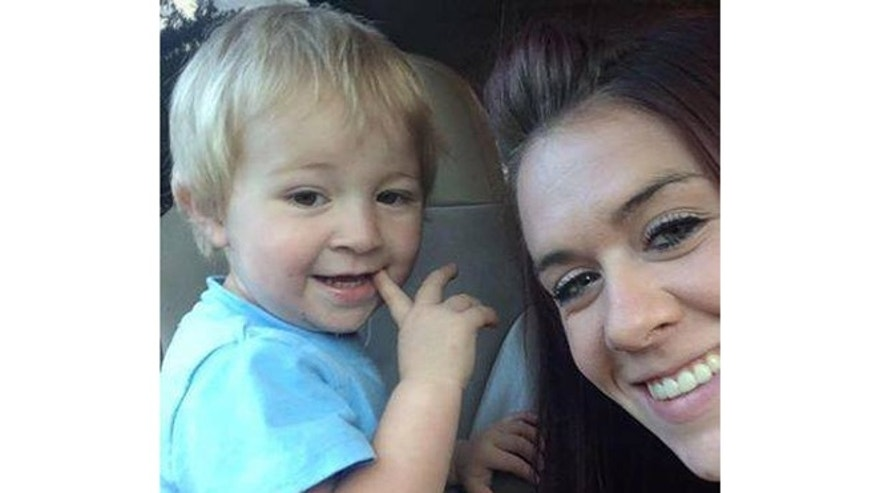 This photo, provided by the Lemhi County Sheriff, show 2-year-old Deorr Kunz who disappeared from an Idaho campsite last Friday.