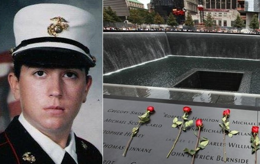 Former US Marine Elizabeth Elderli faces up to 15 years in prison after declaring her handguns at the National Sept. 11 Memorial and Museum.