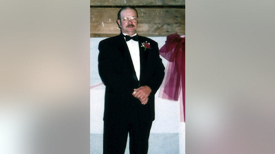 This 1999 photo provided by Kathy Nicholson shows her husband James Nicholson of Brattleboro, Vt., while attending a wedding in Hinsdale, N.H. He was beaten and died six weeks later while serving a sentence for sexual assault at the Lee Adjustment Center, a private prison in Beattyville, Ky. An autopsy could not determine if the beating played a role in his death. The Vermont legislature's Justice Oversight Committee will hold a hearing Wednesday, Aug. 12, 2015 to look into Nicholson's death and those of two other inmates who died recently in Vermont's prisons. (Kathy Nicholson via AP)
