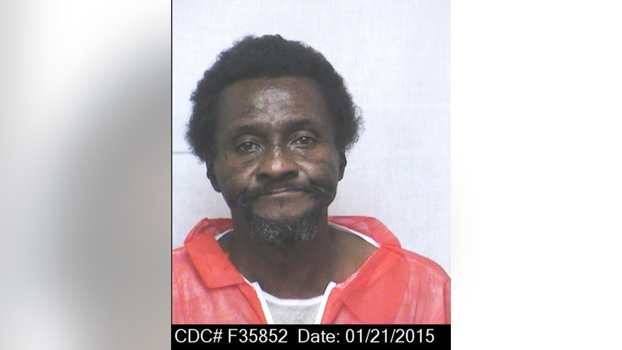 "This Jan. 21, 2015 photo from the California Department of Corrections and Rehabilitation shows inmate William ""Willie"" Tate. Hugo Pinell and Tate and four other inmates became known as the San Quentin Six. Pinell, an inmate involved in a bloody 1971 San Quentin escape attempt that left six dead has been killed by a fellow prisoner, corrections officials said Wednesday, Aug. 12, 2015. Only, Tate, remains in prison, at the Correctional Training Facility in Soledad. (California Department of Corrections and Rehabilitation via AP)"
