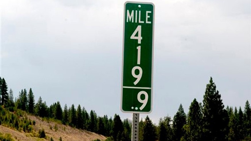 Aug. 11, 2015: Idaho has joined Colorado in replacing milepost 420 signs with milepost 419.9 designations in an effort to thwart thievery.