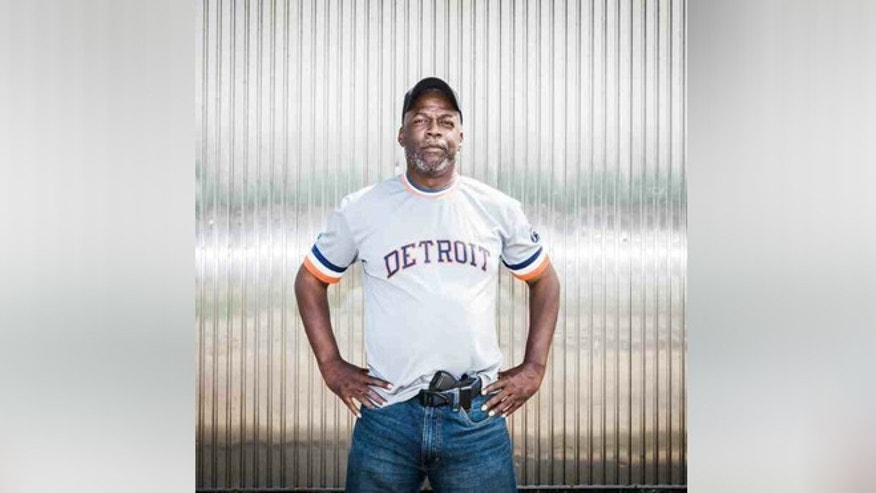 "Rick Ector, an NRA-certified firearms instructor and the blogger behind ""LegallyArmedinDetroit.com,"" says business is booming. (Courtesy of Rick Ector)"