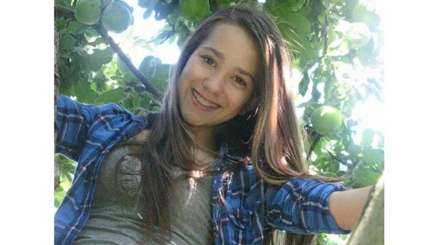 Marley McKenna Spindler, 16, is pictured in an undated photo provided by family members.