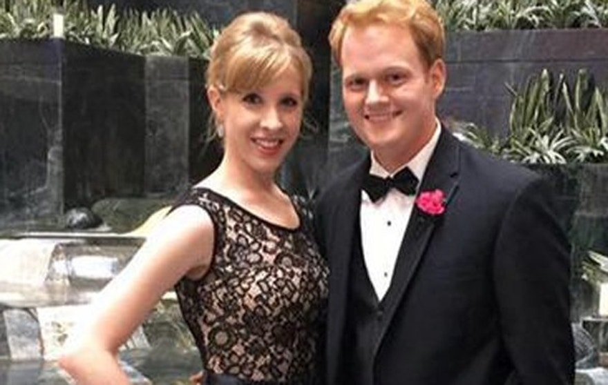 Reporter Alison Parker, left, was killed on live television Wednesday morning. She was dating coworker Chris Hurst.