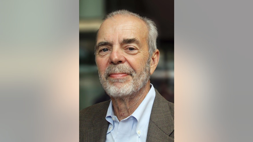 This image provided by Pew Research Center shows Andrew Kohut. Kohut, a leading pollster for more than three decades and founding director of the Pew Research Center, died Sept. 8, 2015 at age 73. (Anne Fengyan Shi/Pew Research Center via AP)