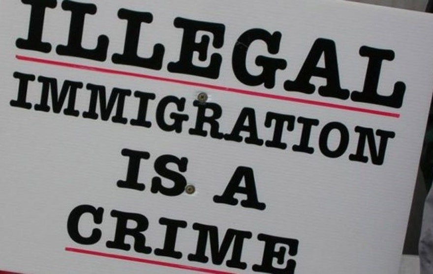 "Critics of the term say the word ""illegal"" should be used to describe actions, but not people."