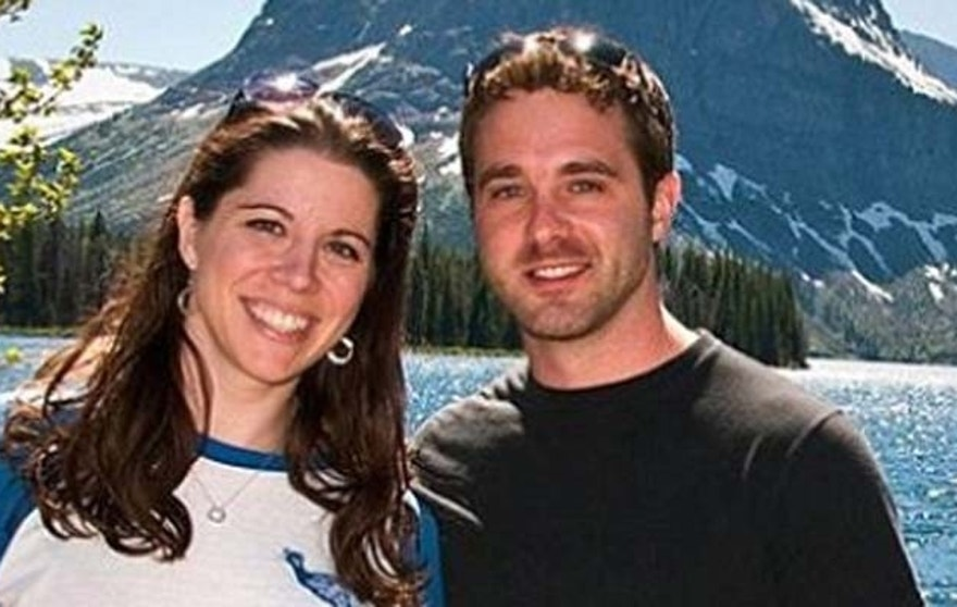 Brewer, shown here with wife and Fox News Channel contributor Mary Katharine Ham, was an avid cyclist.