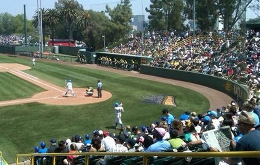 UCLA's baseball team plays in a stadium on 20 acres of land that was set aside for veterans. (UCLA.edu)
