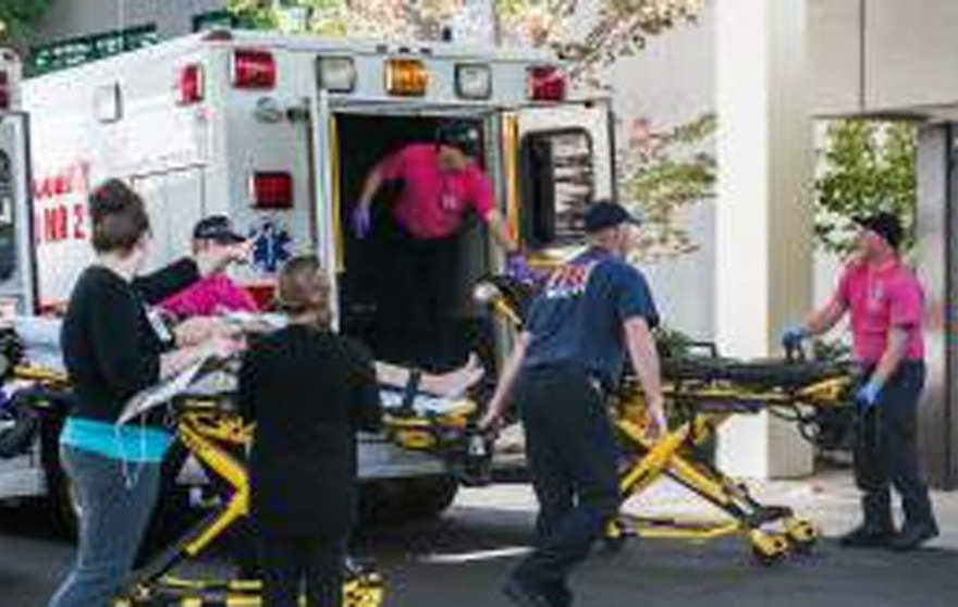There were multiple reports of several casualties at a community college in Oregon.